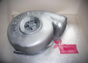 Turbo-engine-cake