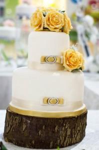 Yellow-flower-cake